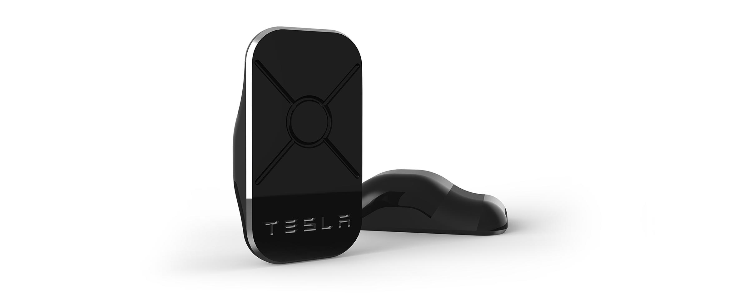 Render of the Tesla Keyfob Design